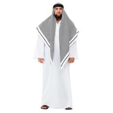 Sjeik Kostuum Deluxe Wit