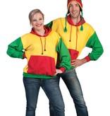 Carnaval Trui Rood/Geel/Groen