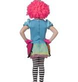 Regenboog Clown Kostuum Meisje