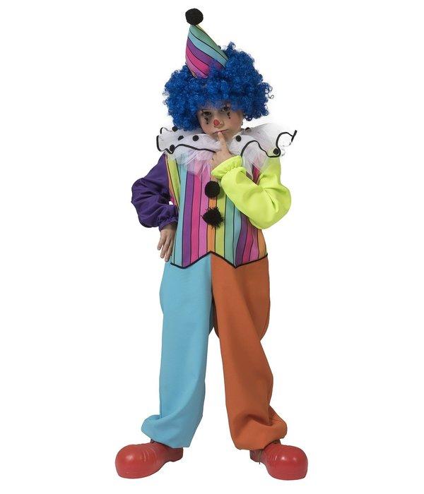 Clown Kostuum Regenboog Jongen