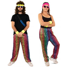 Trainingsbroek neon panter unisex