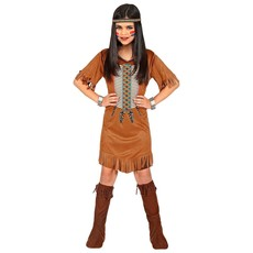 Indiaan Kostuum Inheems Meisje