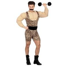 Bodybuilder Kostuum Met Spieren