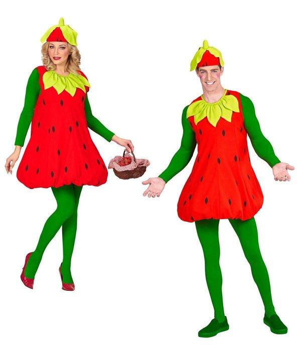 Aardbei Kostuum Volwassenen