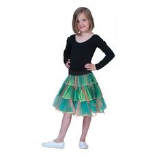 Petticoat Groen/Goud Kind