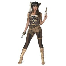 Steampunk Piraat Kostuum Dames