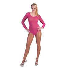Visnet Bodysuit Neon Roze
