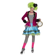Wicked Mad Hatter Jurk Dames
