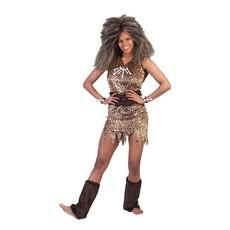 Prehistorische Holbewoner Vrouw