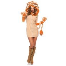 Sexy leeuwinnen jurkje