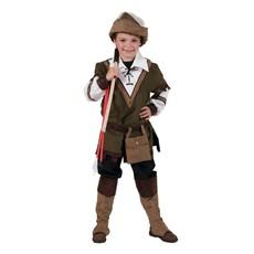 Robin Hood Kostuum Kind Donkergroen