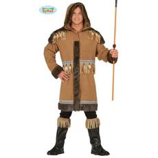 Eskimo Kostuum Bruin Minik