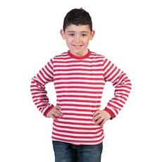 Rood/Wit Gestreept Shirt Kind