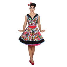 Pop-Art Rock & Roll jurk Dames