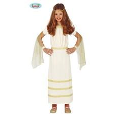Romeinse Jurk Meisje Wit
