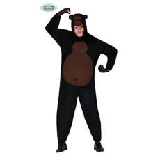 Gorilla Kostuum Heren Zwart