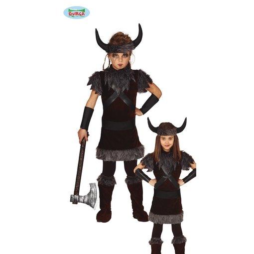 Viking Kostuum Kind Zwart