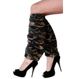 Beenwarmers camouflage leger
