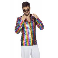 Disco Overhemd Regenboog