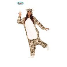 Luipaard Jumpsuit Volwassenen