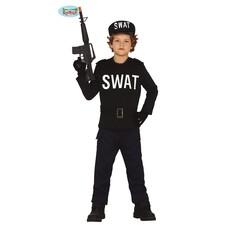 Swat Politie Kostuum Kind