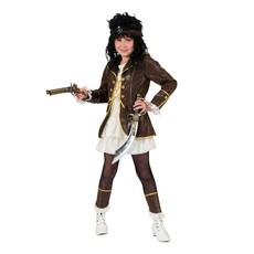 Piraten Boekanier Kostuum  Meisje