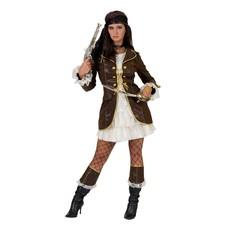 Piraten Boekanier Kostuum Dames
