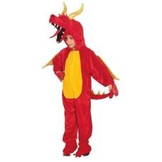 Draken Kostuum Kind Rood