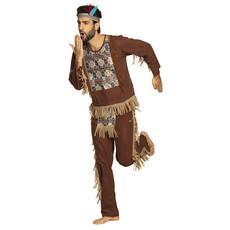 Indianen Kostuum Bruine Beer Man
