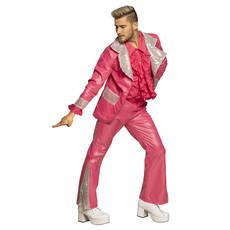 Disco King Kostuum Heren Roze