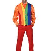 Regenboog Gilet Heren