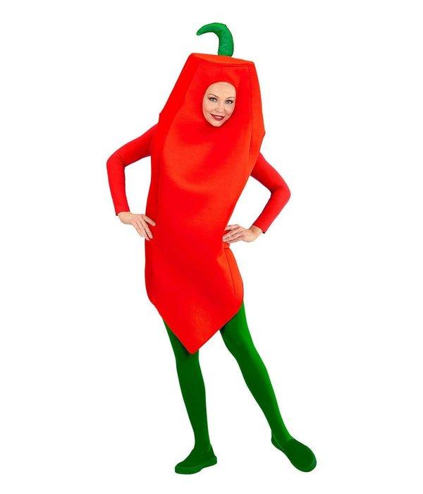 Rode Peper Paprika Kostuum