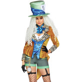 Mad Hatter Outfit Crazy Dames