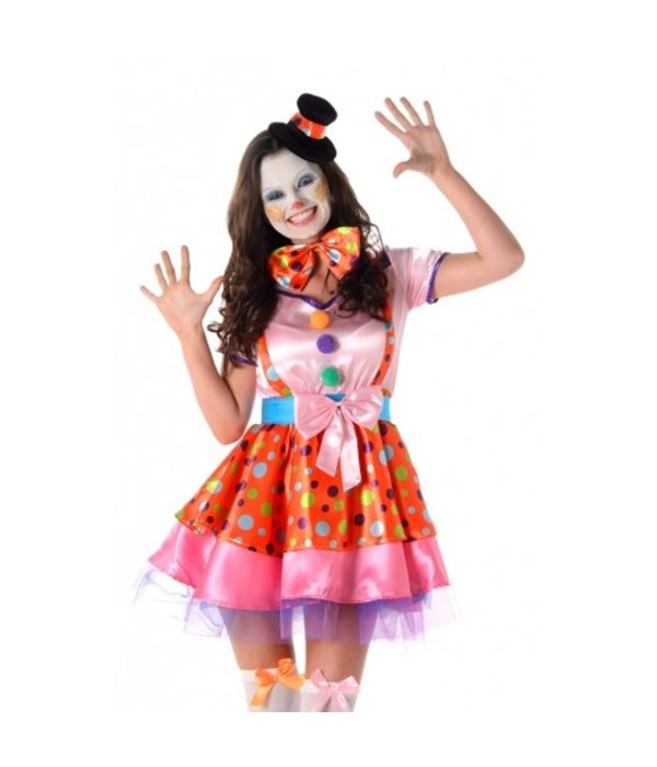 Clown Girl Jurk Dames