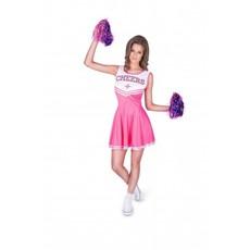 Cheerleader Kostuum Dames Roze