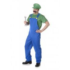 Loodgieter Kostuum Luigi Heren