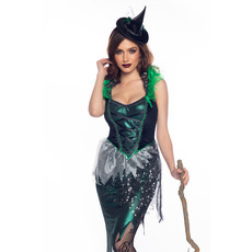 Ondeugende Heks Sterren Vrouw Kostuum