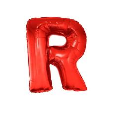 Folieballon Rood Letter 'R' Groot