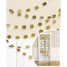 Hangdecoratie Goud/Glitter Cirkels