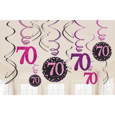 Swirlset 70 Jaar Roze
