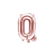 Folieballon Q Rose Goud 35 cm