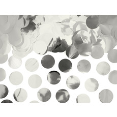 Confetti Cirkels Zilver
