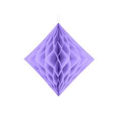 Honeycomb Diamant Lila 30cm