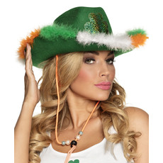 St. Patrick's Day Cowboy Hoed