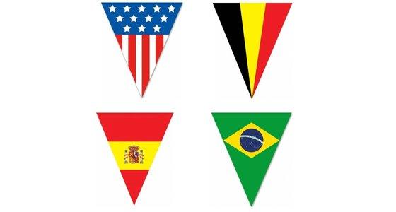 Vlaggenlijn landen