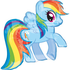 Folie Ballon My Little Pony Rainbow Dash - 68 cm