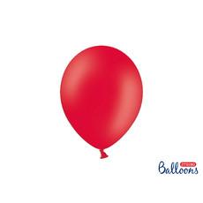 Ballonnen Pastel Poppy Rood - 10 Stuks