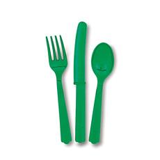 Bestek Emerald Groen 18 Stuks