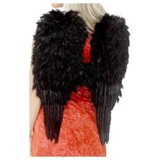 Engel Vleugels Zwart