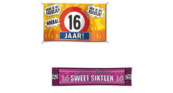 Sweet 16 Spandoek - Vlag